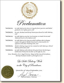 Official Proclamation from Mayor Taveras