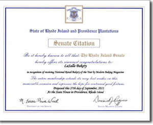 Senate Citation